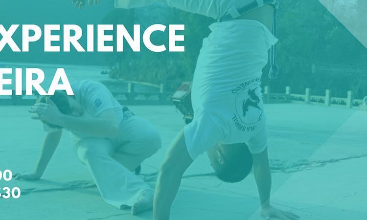 ICE I Capoeira Experience Workshop 巴西戰舞體驗日