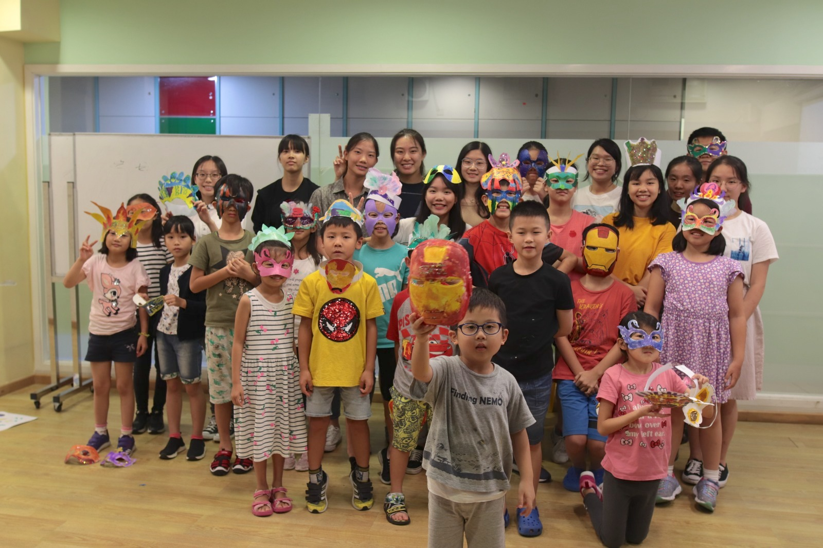 Volunteering with Chinese YMCA