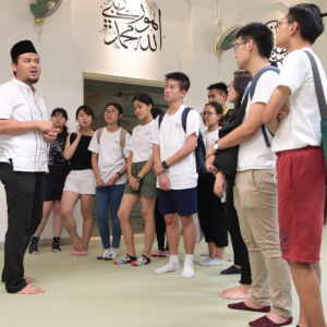 Image of students participating in our Crash Course World Cultures course