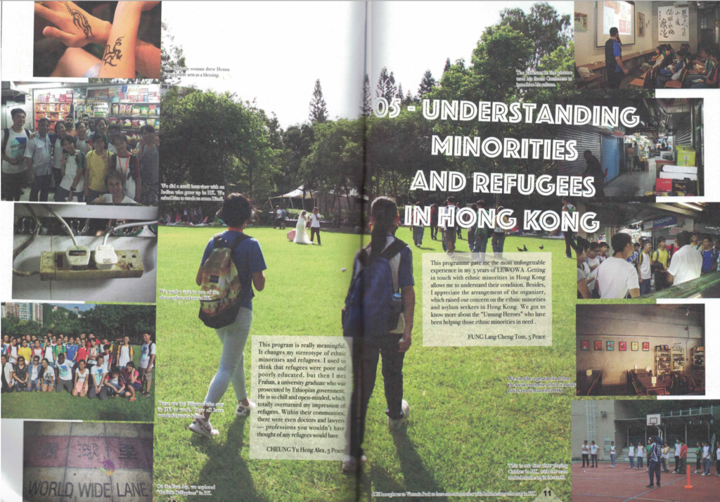 Understanding Minorities and Refugee in Hong Kong with ICE