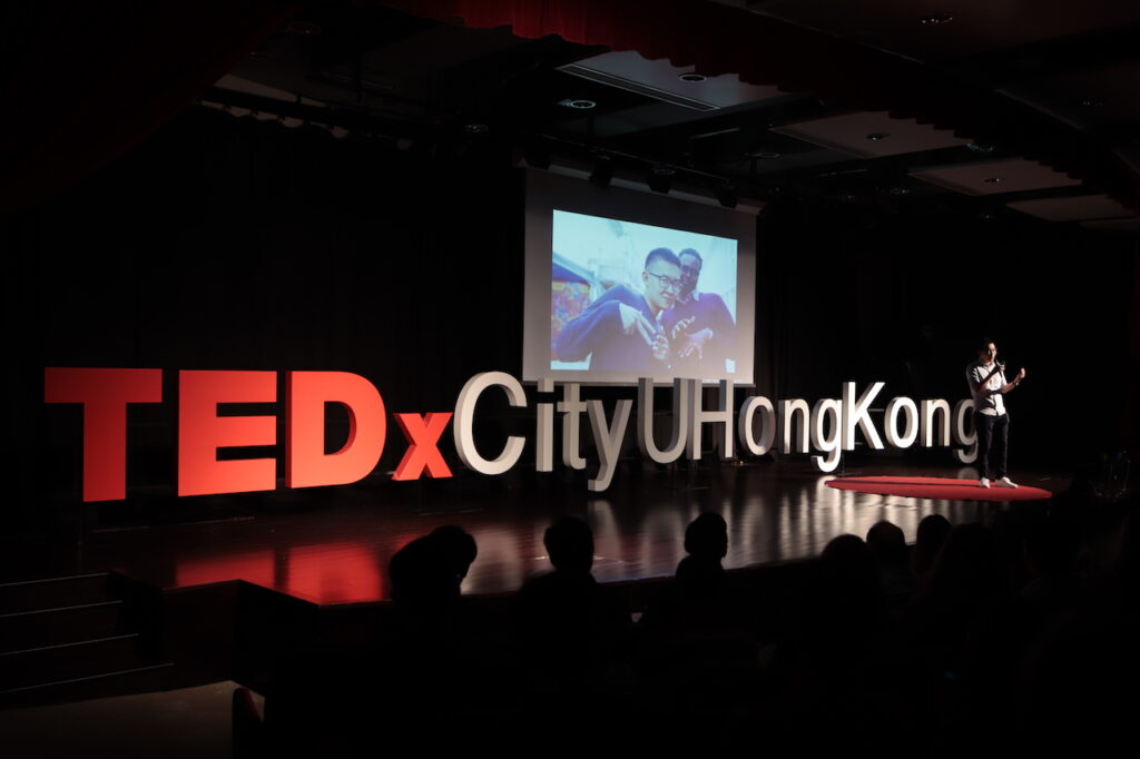 Begin with a conversation to unlock the potential | Jey Chan | TEDxCityUHongKong